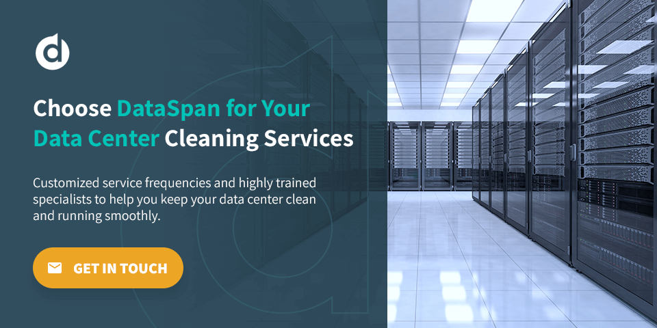 dataspan provides data center cleaning